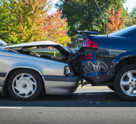Clouse Insurance provides affordable accident coverage for automobiles.